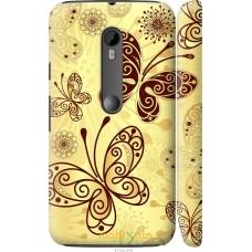 Чехол на Motorola Moto G3 Рисованные бабочки