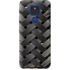 Чехол на Motorola E7 Plus Металлические фоны