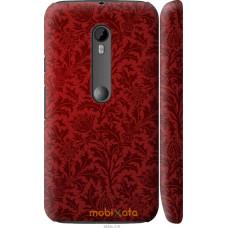Чехол на Motorola Moto G3 Чехол цвета бордо