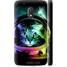 Чехол на Motorola Moto G4 Play Кот космонавт