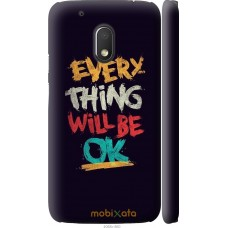 Чехол на Motorola Moto G4 Play Everything will be Ok