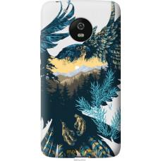Чехол на Motorola Moto G5 Арт-орел на фоне природы