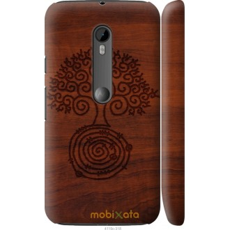 Чехол на Motorola Moto G3 Узор дерева