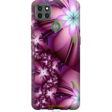 Чехол на Motorola G9 Power Цветочная мозаика