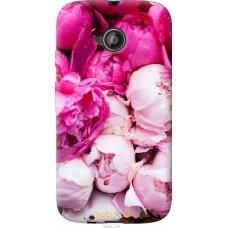 Чехол на Motorola Moto E2 Розовые цветы