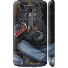 Чехол на Motorola Moto G3 gamer cat
