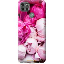 Чехол на Motorola G9 Power Розовые пионы