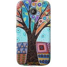 Чехол на Motorola Moto E2 Арт-дерево