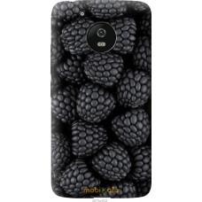 Чехол на Motorola Moto G5 Черная ежевика
