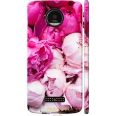 Чехол на Motorola MOTO Z Розовые цветы