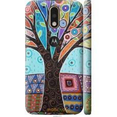 Чехол на Motorola MOTO G4 PLUS Арт-дерево