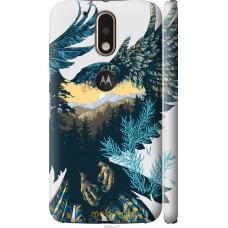 Чехол на Motorola MOTO G4 PLUS Арт-орел на фоне природы