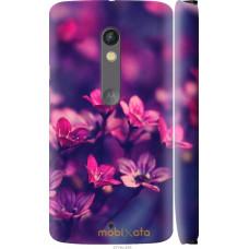 Чехол на Motorola Moto X Play Весенние цветочки