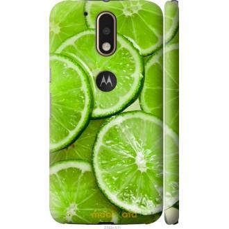 Чехол на Motorola MOTO G4 Лайм