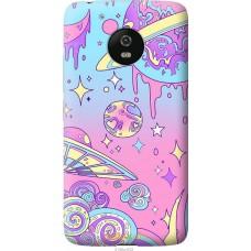 Чехол на Motorola Moto G5 'Розовый космос