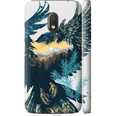Чехол на Motorola Moto G4 Play Арт-орел на фоне природы