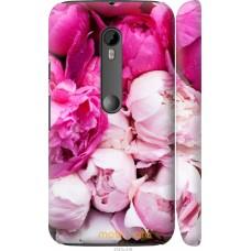 Чехол на Motorola Moto G3 Розовые цветы