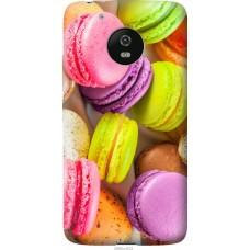 Чехол на Motorola Moto G5 Вкусные макаруны