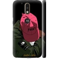 Чехол на Motorola MOTO G4 PLUS De yeezy brand