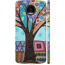 Чехол на Motorola MOTO Z Арт-дерево