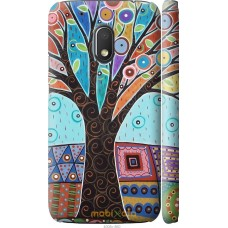 Чехол на Motorola Moto G4 Play Арт-дерево