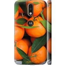 Чехол на Motorola MOTO G4 Мандарины