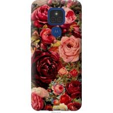 Чехол на Motorola E7 Plus Цветущие розы