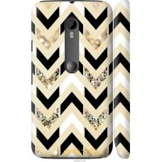 Чехол на Motorola Moto G3 Шеврон 10