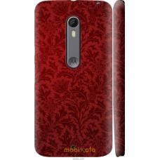 Чехол на Motorola Moto X Style Чехол цвета бордо