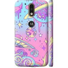 Чехол на Motorola MOTO G4 'Розовый космос
