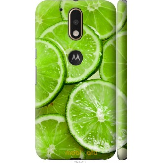 Чехол на Motorola MOTO G4 PLUS Лайм