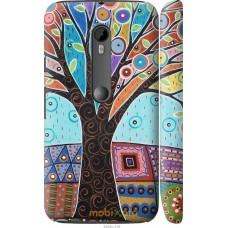 Чехол на Motorola Moto G3 Арт-дерево