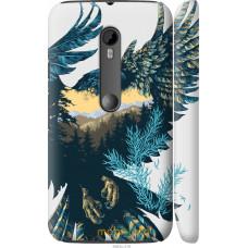 Чехол на Motorola Moto G3 Арт-орел на фоне природы