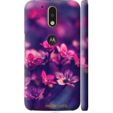 Чехол на Motorola MOTO G4 Весенние цветочки