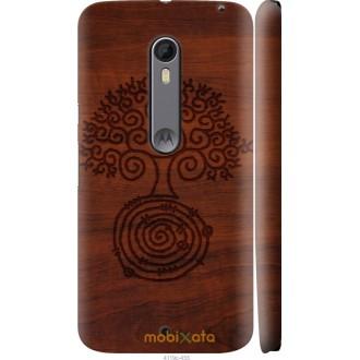 Чехол на Motorola Moto X Style Узор дерева