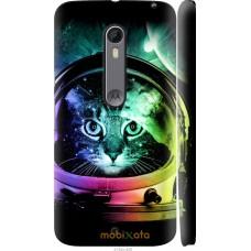 Чехол на Motorola Moto X Style Кот космонавт