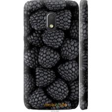 Чехол на Motorola Moto G4 Play Черная ежевика