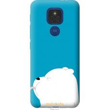 Чехол на Motorola E7 Plus Мишка 1