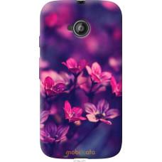 Чехол на Motorola Moto E2 Весенние цветочки