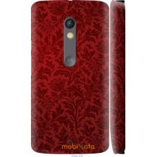 Чехол на Motorola Moto X Play Чехол цвета бордо