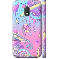 Чехол на Motorola Moto G4 Play 'Розовый космос