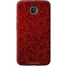 Чехол на Motorola Moto X2 Чехол цвета бордо
