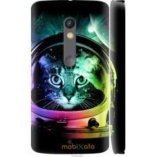 Чехол на Motorola Moto X Play Кот космонавт