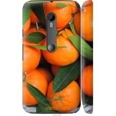 Чехол на Motorola Moto G3 Мандарины