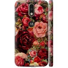 Чехол на Motorola MOTO G4 Прекрасные розы