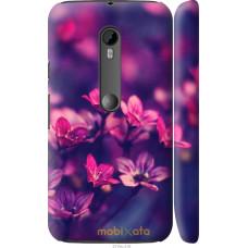 Чехол на Motorola Moto G3 Весенние цветочки