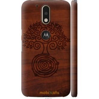 Чехол на Motorola MOTO G4 Узор дерева