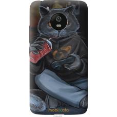 Чехол на Motorola Moto G5 gamer cat