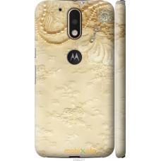 Чехол на Motorola MOTO G4 PLUS 'Мягкий орнамент