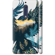 Чехол на Nokia 5 Арт-орел на фоне природы